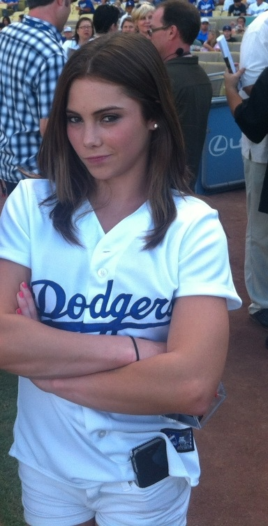 mckayla maroney dodgers