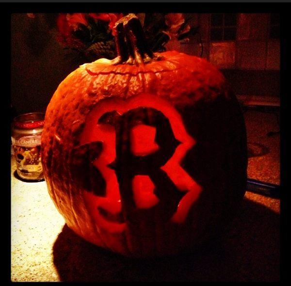 Will Middlebrooks' Pumpkin