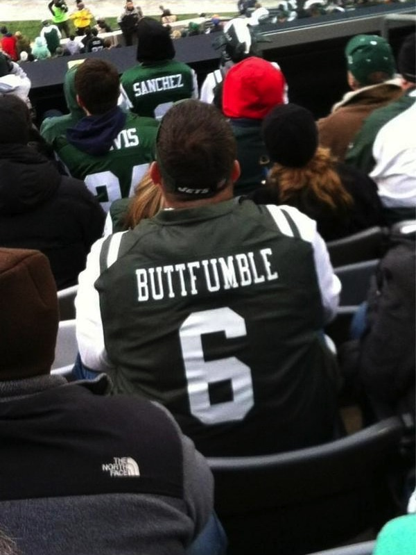 ButtFumble - photocred: Deadspin