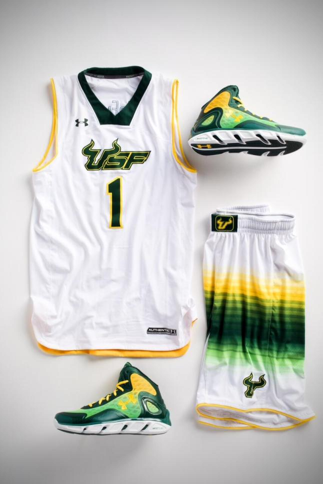 USF Basketball Jerseys